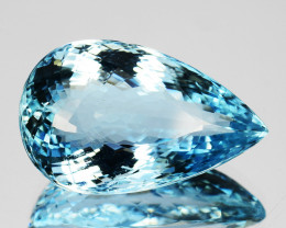 12.18 Cts Beautiful Pretty Natural Aquamarine Blue - REF VIDEO