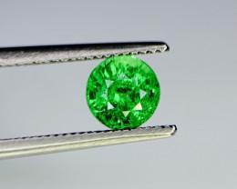 1.01 Carats vivid Green Natural Tsavorite Gemstone
