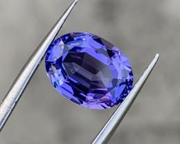 5.43 carat Natural Fancy cut Tanzanite Gemstone