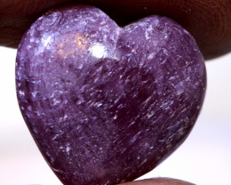 11.40 CTS RED RUBY HEART CARVING  PG-559preciousgems