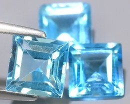 5.90 CTS AWESOME NICE QULITY SWISS BLUE NATURAL TOPAZ~