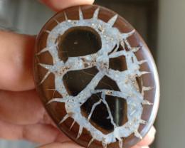 81 Ct Rare Septarian Gemstone 100% NATURAL AND UNTREATED VA402