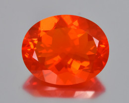 7.66 Cts Beautiful Color Natural Mexican Fire Opal