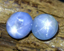Blue Star Sapphire 4.77Ct Burmese Unheated Blue Star Sapphire C0108