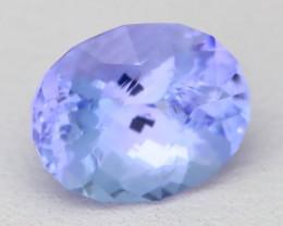 Tanzanite 2.88Ct VVS Master Cut Unheated Purplish Blue Tanzanite C0115