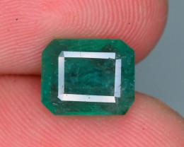 Top Quality 2.00 ct Zambian Emerald Vivid Green Color
