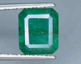 Top Quality 2.15 ct Zambian Emerald Vivid Green Color