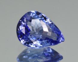 Natural Tanzanite 3.28  Cts Top Grade  Faceted Gemstone