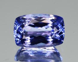 Natural Tanzanite 3.11  Cts Top Grade  Faceted Gemstone