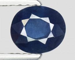 0.97Ct Natural Blue Sapphire Good Quality  Gemstone. BS 23