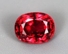 1.80 CT SPINEL BLOOD RED 100% NATURAL UNHEATED BURMESE