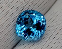 13.85CT BLUE TOPAZ BEST QUALITY GEMSTONE IIGC67