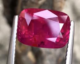 Ruby 5.01 carats No heat