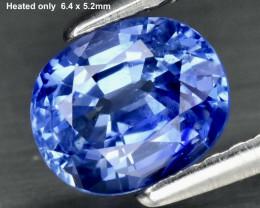 1.09ct Sapphire - Ceylon Cornflower / Heated Only / 6.4 x 5.2mm