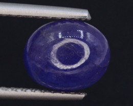 AAA Color 5.00 ct Tanzanite Cab eye catching Color t