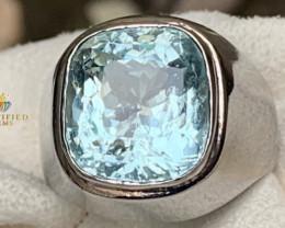 Spectacular Aquamarine Ring