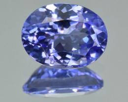 Natural Tanzanite 2.89Cts Top Grade  Faceted Gemstone