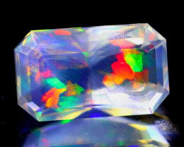 ContraLuz 3.15Ct Octagon Cut Mexican Very Rare Species Opal A0272