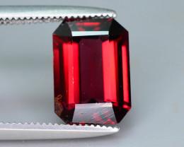 Emerald Cut 2.70 ct Red Garnet Class Piece For Jewelry