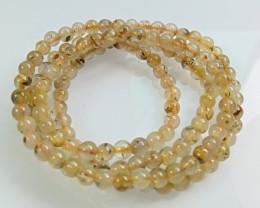 Natural Titanium crystal Necklace