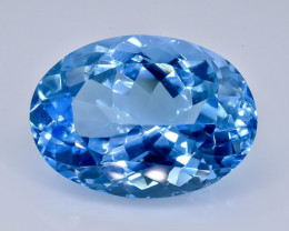 18.95 Crt Topaz Faceted Gemstone (Rk-23)