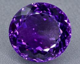 24.03 Crt Amethyst Faceted Gemstone (Rk-23)
