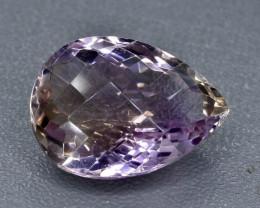 13.69 Crt Ametrine Faceted Gemstone (Rk-23)