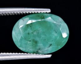 3.77 Crt Emerald Faceted Gemstone (Rk-23)