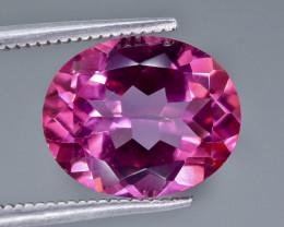 5.38 Crt Pink Topaz Faceted Gemstone (Rk-23)