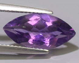 3.55 CTS  NATURAL ULTRA RARE LUSTER PURPLE AMETHIYST GEM!!