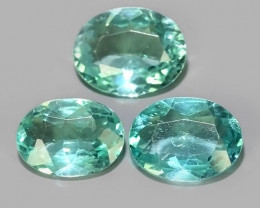 2.60 CTS EXQUISITE GREEN COLOR UNHEATED APATITE~OVAL EXCELLENT!