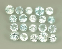 1.75 CTS~EXCELLENT ROUND CUT_NATURAL TOPAZ