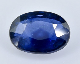 1.25 Crt Natural Sapphire Faceted Gemstone.( AB 32)