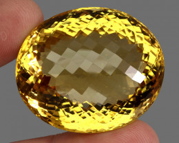 165.80  ct. 100% Natural Unheated Top Quality Yellow Golden Citrine Brazil
