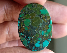 Huge Tibetian Turquoise 100% NATURAL AND UNTREATED VA421