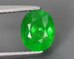 2.000 Cts Tsavorite Oval Chrome Green Garnet 100% Natural Unheated