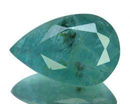 ~RAREST~ 5.42 Cts Natural Grandidierite Bluish Green Pear Madagascar