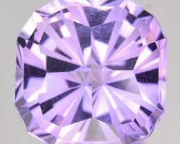 ~CUSTOM CUT~ 9.25 Cts Natural Purple Amethyst Fancy Cushion Bolivia