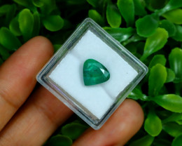Zambian Emerald 2.51Ct Natural Green Color Emerald  B0301