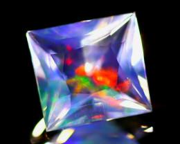 ContraLuz 1.47Ct Octagon Cut Mexican Very Rare Species Opal B0343