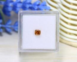 Orange Diamond 0.46Ct Natural Untreated Genuine Fancy Diamond B0369