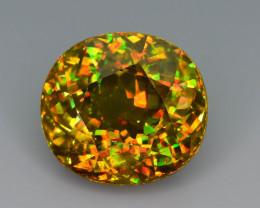 AAA Spectrum 12.85  ct Sphene Class Dispersion Tanzania Mined RRP$12000 Sku