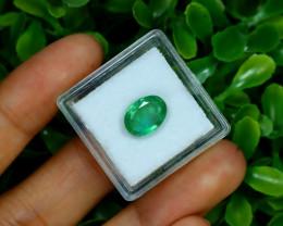 Zambian Emerald 2.41Ct Natural Green Color Emerald B0325