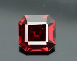 Top Grade 3.30 ct Fancy Cut Red Garnet