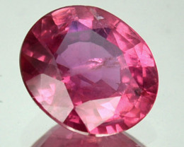1.54 Cts Natural Corundum Songean Reddish Pink Sapphire