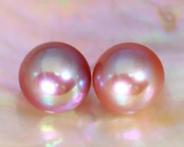 8.0mm 7.46Ct Natural Australian South Sea Pink Color Pearl C0437