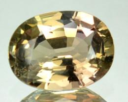 0.91 Cts Natural Corundum Sapphire Oval Africa