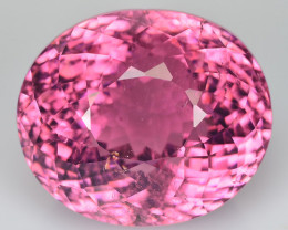 22.73 Cts Beautiful Natural Sweet Pink Tourmaline Oval Mozambique