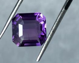 3.95 carats, Natural Amethyst.