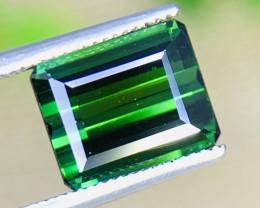 3.90 Cts Vivid Green  Natural Tourmaline Gemstone
